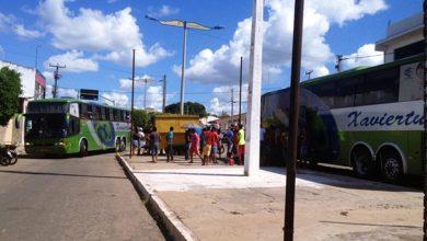 Êxodo- Saída de trabalhadores de Abaiara (CE) para trabalharem fora do município | Foto: Enviada por leitor